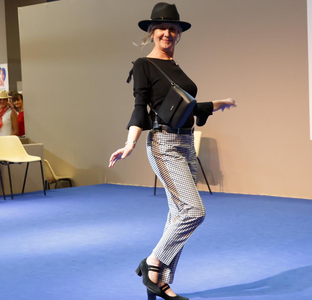 Catherine Lairaud - Modèle sénior